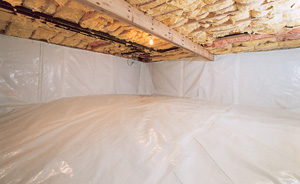 Crawl Space Moisture Barrier After in Greece