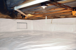 Crawl Space Repair After in Greece
