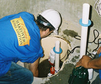 installing a sump pump and backup sump pump system in Medina, NY
